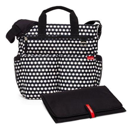 Skip hop previjalna torba Duo Signature, bež-črna