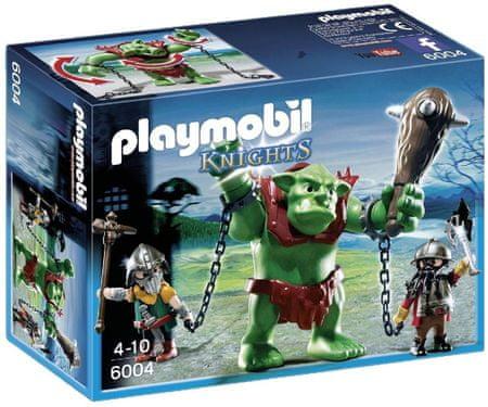 Playmobil 6004 Orjaški trol in borci škrati