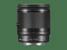 Nikon objektiv 1 Nikkor VR 10–100 mm, f/4,0–5,6, črn