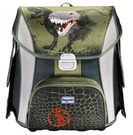 Hama školní aktovka Baggymax SIMY Dino - Recenze  0113f56767