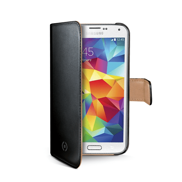 Celly Pouzdro Wally, Samsung Galaxy S5 mini, černé