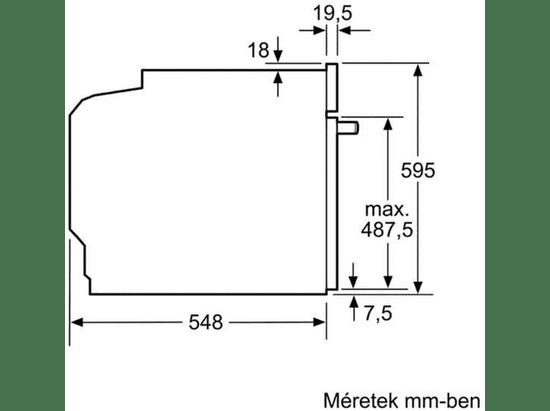 Bosch vestavná trouba HBG6750S1