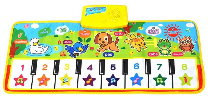 Mac Toys Hrací piáno se zvířátky