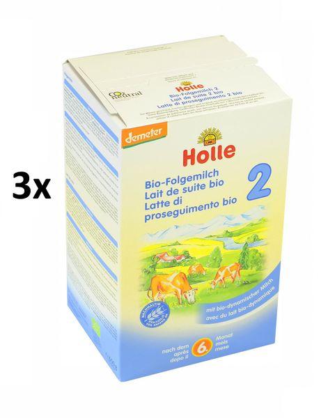 Holle Bio dětská mléčná výživa 2 - 3 x 600g