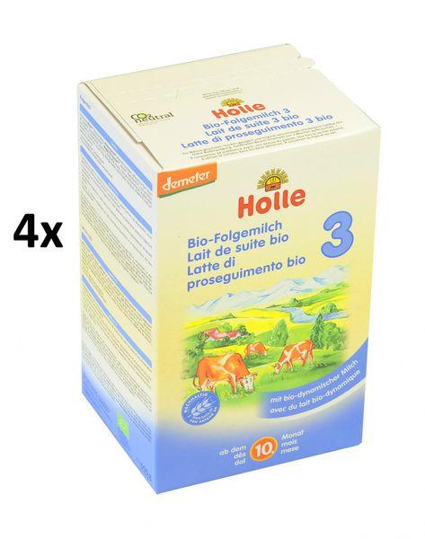 Holle Bio dětská mléčná výživa 3 - 4 x 600g