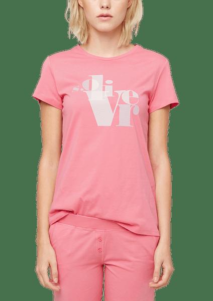 s.Oliver dámské tričko na spaní 46 růžová
