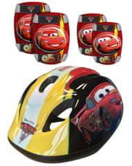 Stamp Cars - Bezpečnostní set helma, kolenní a loketní chrániče