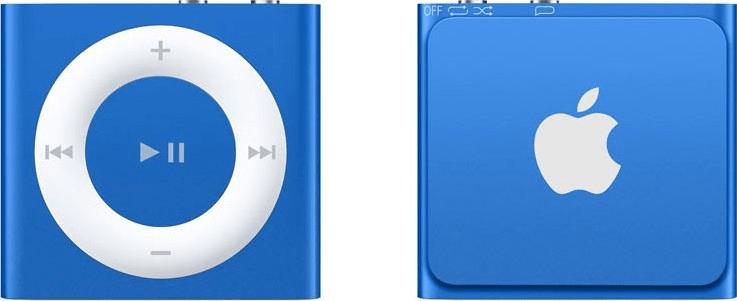 Apple iPod shuffle / 2GB, modrá