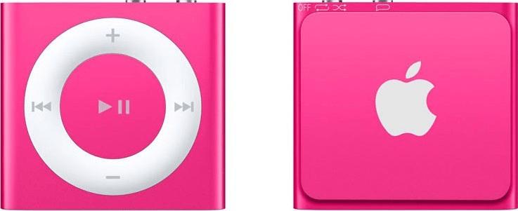 Apple iPod shuffle 2,048 růžová - II. jakost