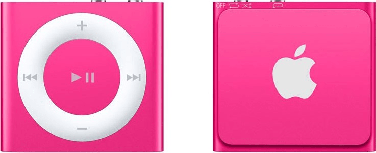 Apple iPod shuffle / 2GB, růžová