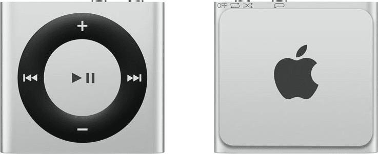 Apple iPod shuffle / 2GB, stříbrná