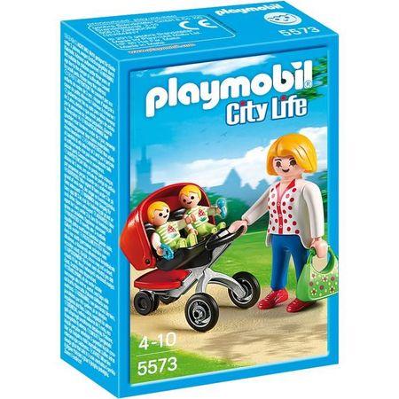 Playmobil Wózek dla bliźniaków, 5573