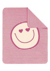 s.Oliver detská deka jacquard smajlík