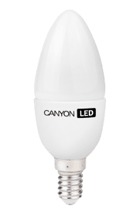 Canyon LED žarnica BE14FR6W230VW