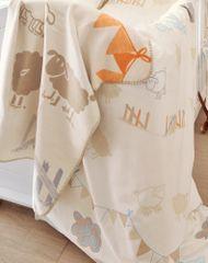 s.Oliver detská deka jacquard ovečka
