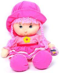 Mac Toys Bábika Anička veľká ružová CZ