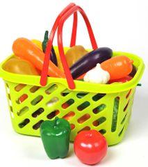 Mac Toys Bevásárlókosár zöldséggel és gyümölccsel