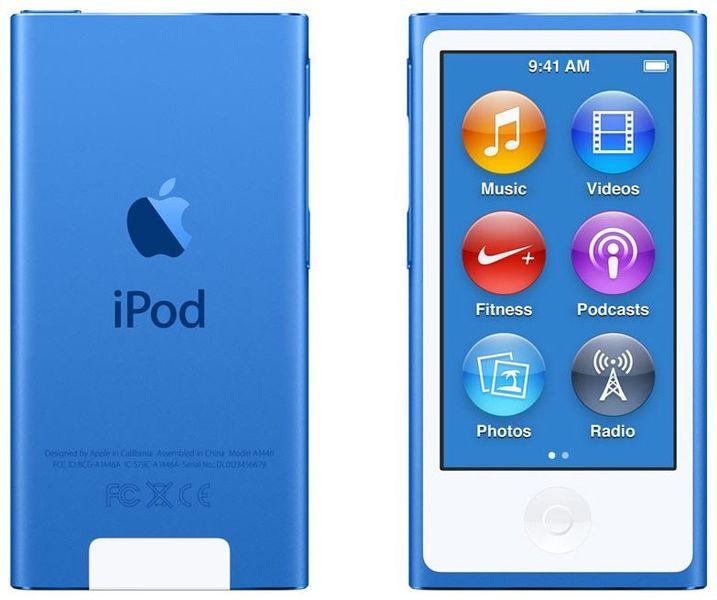 Apple iPod Nano / 16GB - 7. generace, modrá