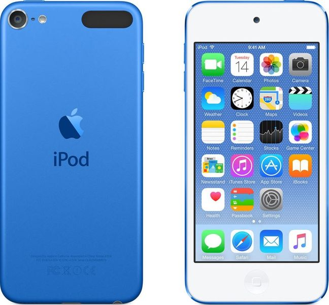 Apple iPod touch 32GB, MKHV2HC/A, modrá