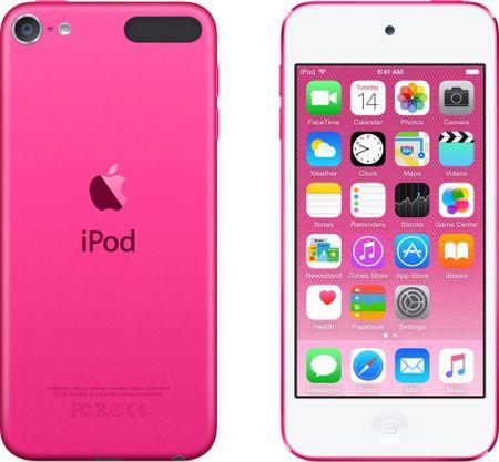 Apple iPod touch 16GB, MKGX2HC/A, růžová