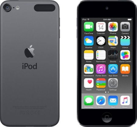 Apple MP4 predvajalnik iPod touch 32 GB, siva
