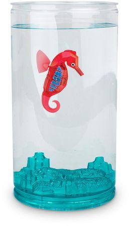Hexbug Aquabot Mořský koník s akváriem růžová