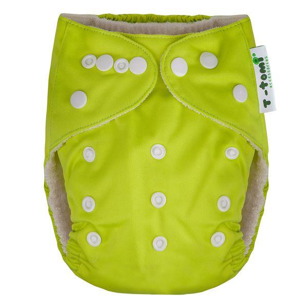 T-tomi Bambusová kalhotková plena, zelená + dárek
