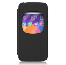 Alcatel ONE Touch IDOL 3 5.5 (6045Y) Aero Flip tok, Fekete