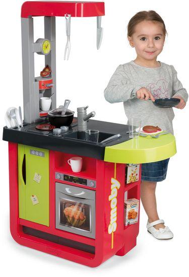 Smoby Kuchyňka Bon Appetit Cherry červeno-zelená, elektronická