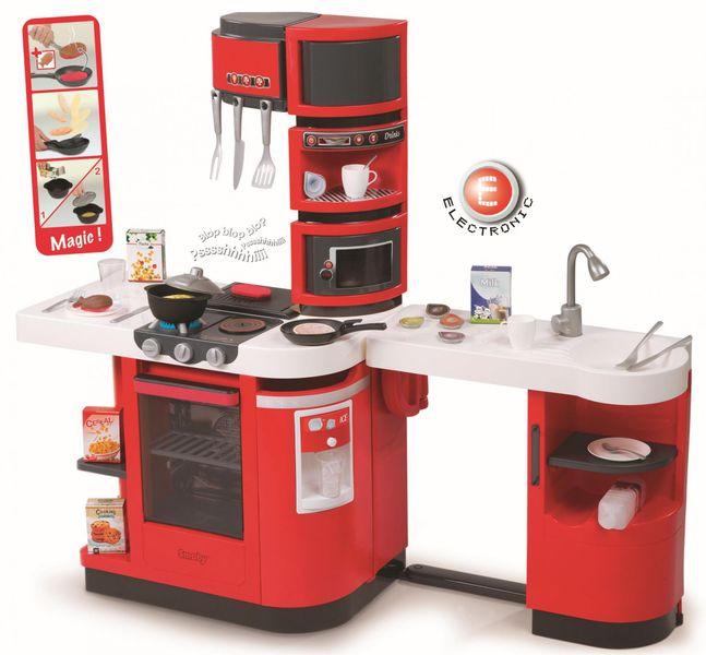 Smoby Kuchyňka Cook Master červená elektronická