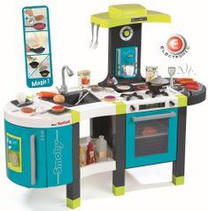 Smoby Kuchynka French Touch modro-zelená elektronická
