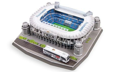 Nanostad 3D Puzzle stadion Santiago bernabeu