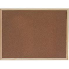 Optima plutovinasta tabla 60 x 90, lesen okvir