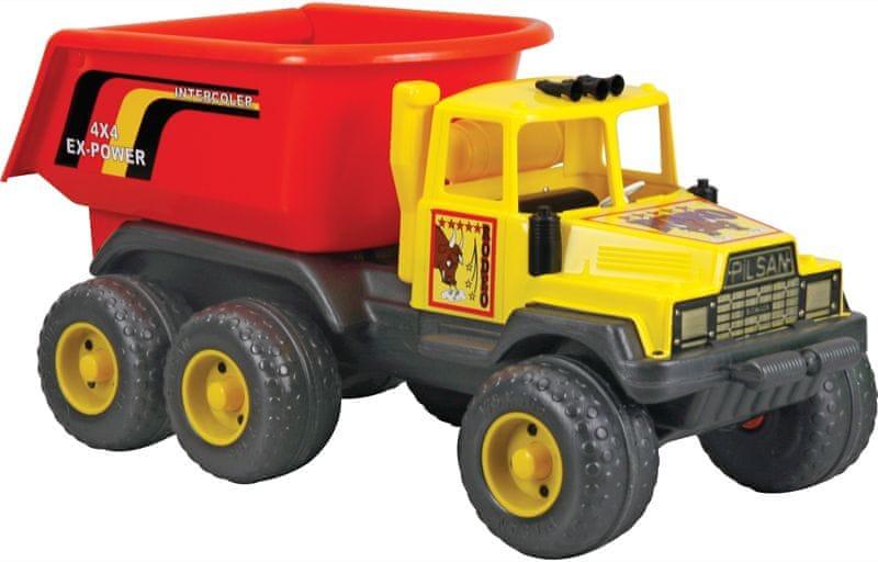 Pilsan Rodeo Dump Truck 91cm žlutý