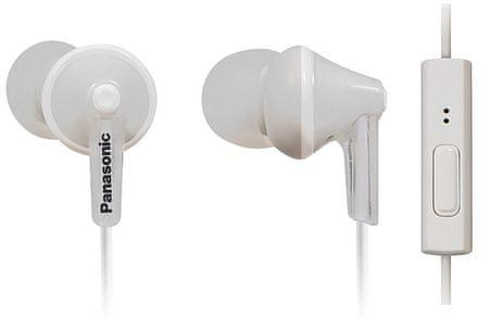 PANASONIC RP-TCM125E Fülhallgató, Fehér