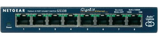Netgear ProSafe 8-Port Gigabit Switch (GS108GE)