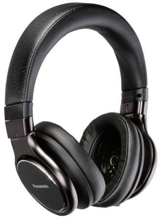 PANASONIC RP-HD10E Fejhallgató, Fekete