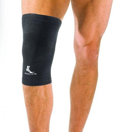 Mueller elastična manšeta za koleno, črna, L (55253)