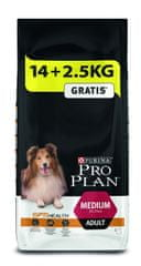 Purina Pro Plan Medium Adult 14 + 2,5 kg zadarmo