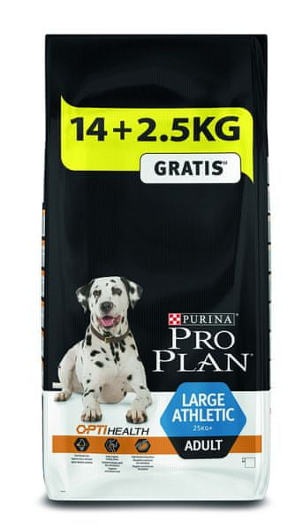 Purina Pro Plan Large Adult Athletic 14 + 2,5 kg Zdarma