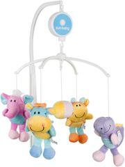 Sun Baby Kolotoč nad postieľku s plyšovými hračkami
