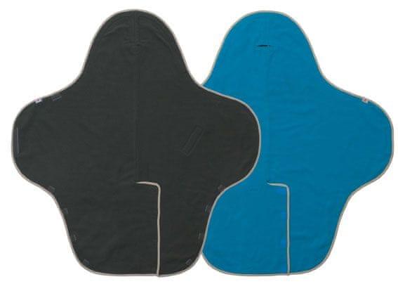 Lodger Zavinovačka Wrapper Motion Fleece, Ultramarine