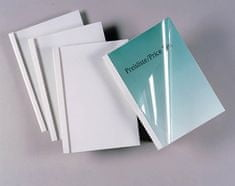 DSB platnice za toplotno vezavo 8 mm, 100 kosov, bele