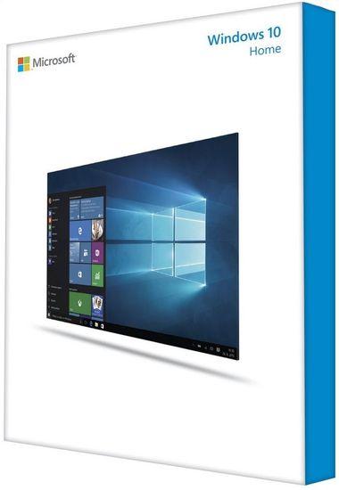 Microsoft Windows 10 Home 64bit. Cz DVD OEM (KW9-00150)