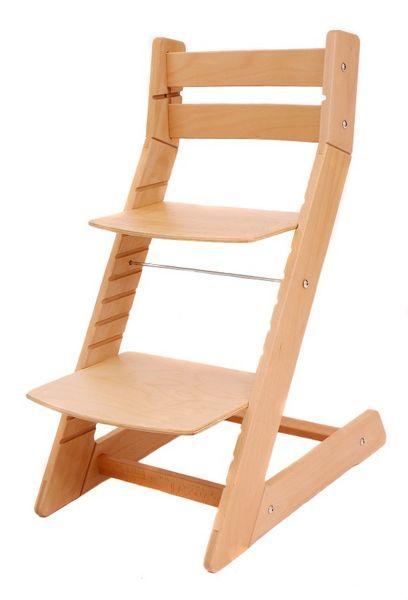 Wood Partner Dětská rostoucí židle MONY natur buk - II. jakost