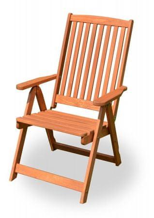 Rojaplast krzesło HOLIDAY barwione