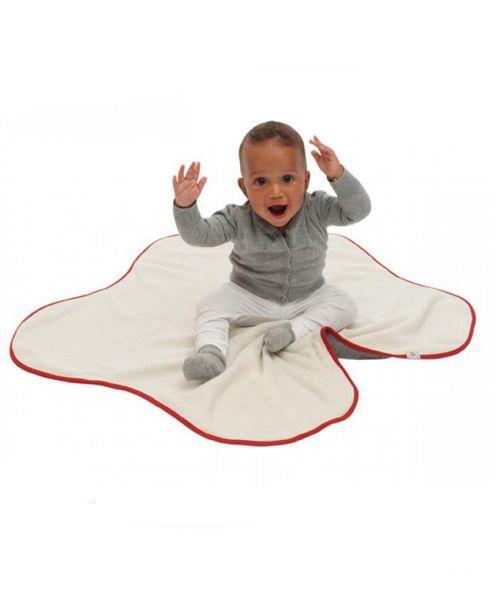 Lodger Zavinovačka Wrapper Motion Fleece, Baby pink
