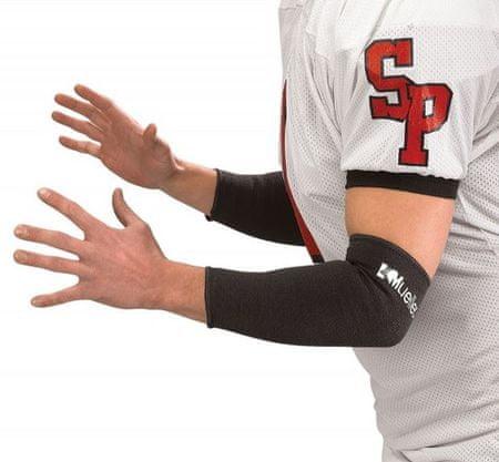 Mueller rokav za komolec, elastičen, par (4111/4116), črn, L
