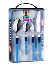 Monix 24-dielny set príborov RAINBOW modrá