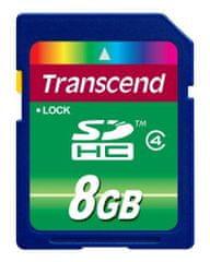 Transcend spominska kartica SD 8 GB TS8GSDHC4